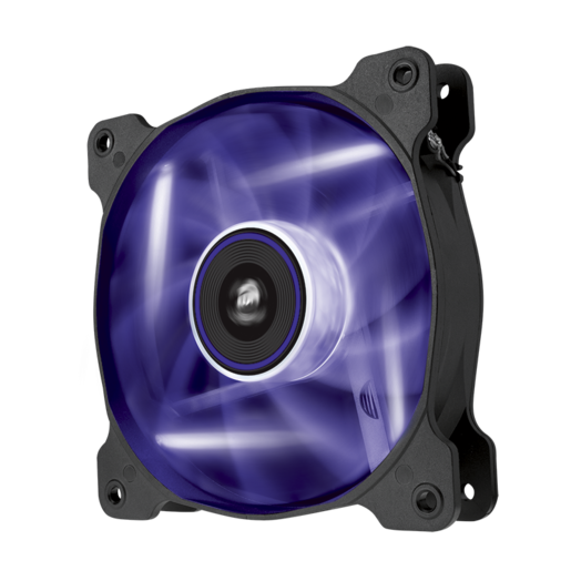 Air Series™ AF120 LED Purple Quiet Edition High Airflow 120mm Fan - Twin Pack