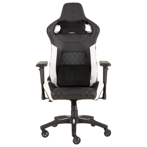 T1 RACE 2018 Gaming Chair — Black/White