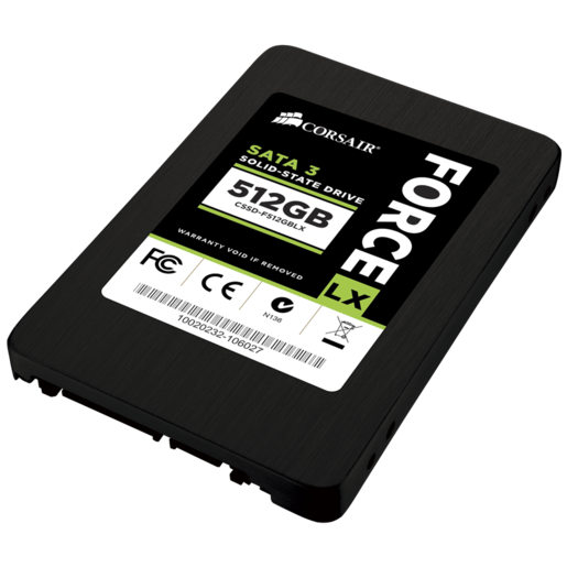 Force Series™ LX 512GB SATA 3 6Gb/s SSD