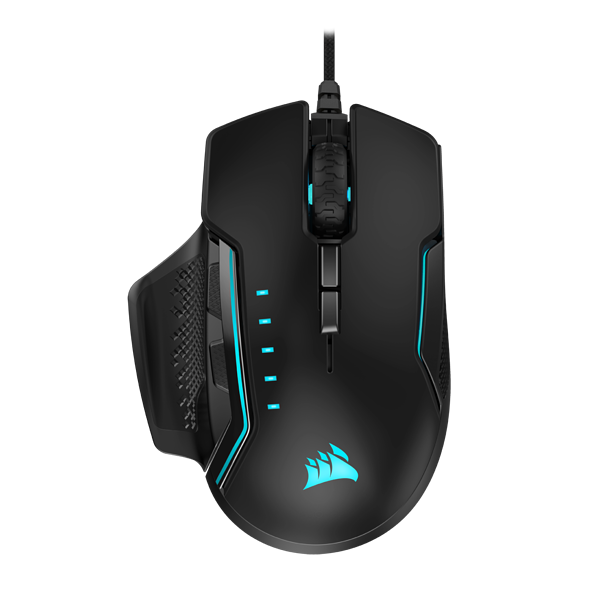GLAIVE RGB PRO Gaming Mouse — Black (AP)