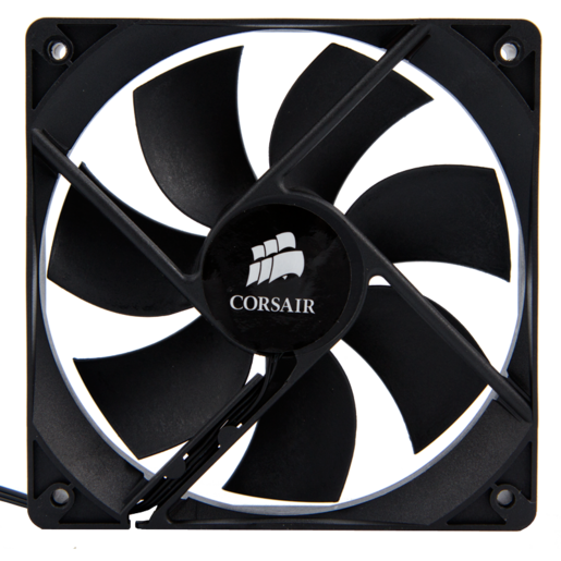 140mm fan, three-pin, CORSAIR logo, for Obsidian 800D