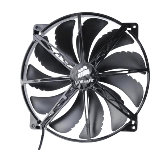Black 200mm Case Fan
