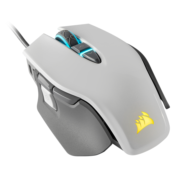 M65 RGB ELITE Tunable FPS Gaming Mouse — White (AP)