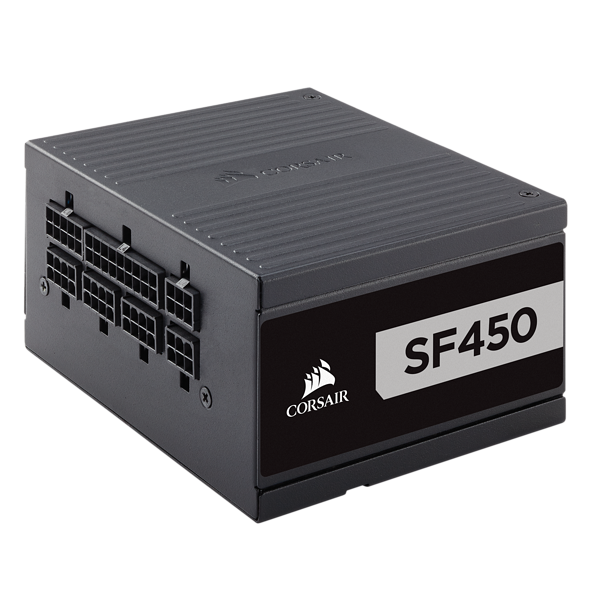 SF Series™ SF450 — 450 Watt 80 PLUS® Platinum Certified High Performance SFX PSU (UK)