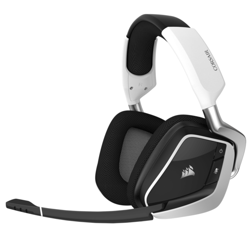 VOID PRO RGB Wireless Premium Gaming Headset with Dolby® Headphone 7.1 — White (EU)
