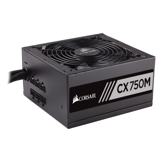 CX Series™ CX750M — 750 Watt 80 PLUS® Bronze Certified Modular ATX PSU (2015 Edition)