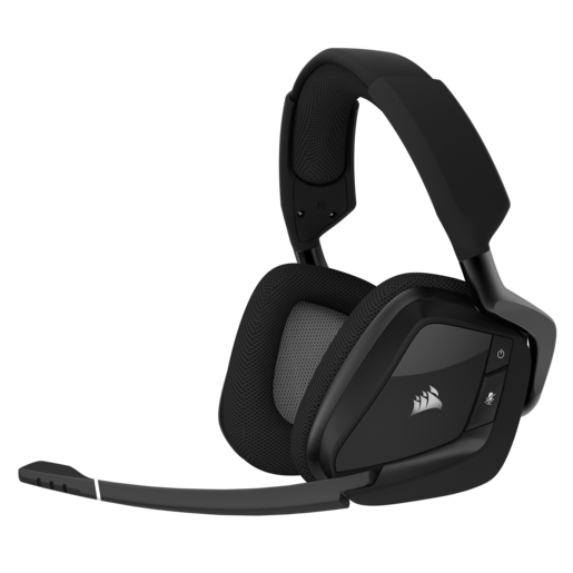 VOID PRO RGB Wireless Premium Gaming Headset with Dolby® Headphone 7.1 — Carbon