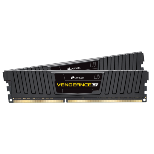Vengeance® LP 16GB (2x8GB) DDR3L DRAM 1600MHz C9 Memory Kit