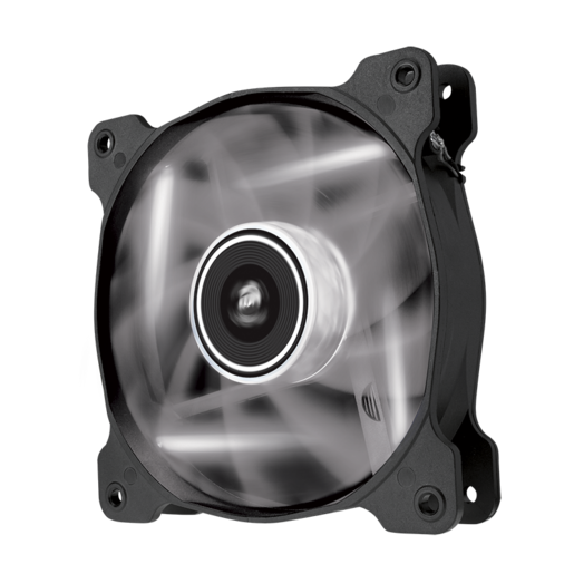 Air Series™ AF120 LED White Quiet Edition High Airflow 120mm Fan