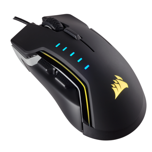 GLAIVE RGB Gaming Mouse — Aluminum