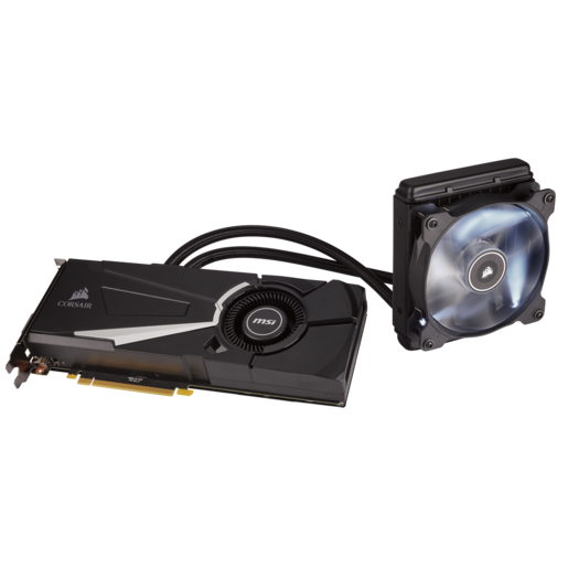 Hydro GFX GTX 1080 Liquid Cooled Graphics Card