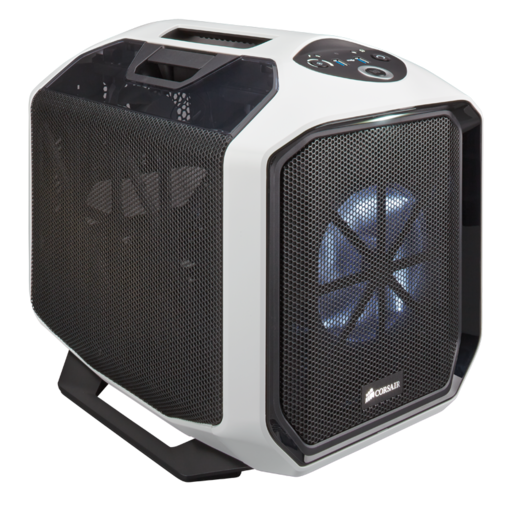 Graphite Series™ 380T White Portable Mini ITX Case