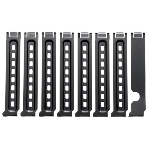 Graphite Series™ 600T PCI slot covers (8)