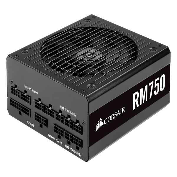 RM Series™ RM750 — 750 Watt 80 PLUS® Gold Certified Fully Modular PSU (EU)