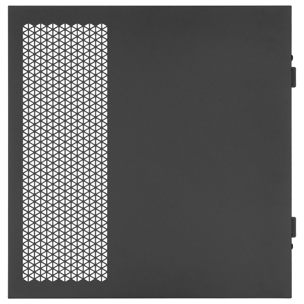 iCUE 5000X/5000D/5000D AIRFLOW Solid Side Panel, Black