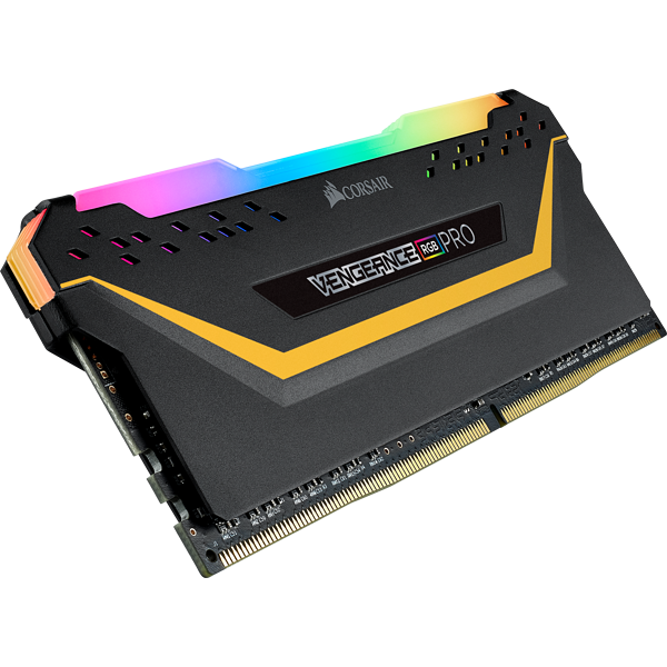 VENGEANCE® RGB PRO 32GB (2 x 16GB) DDR4 DRAM 3200MHz C16 Memory Kit TUF Gaming Edition — Black